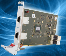 Dual 10GBASE-T Ethernet, CompactPCI Serial